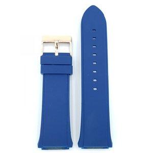 Guess Guess Rigor Smart Connect C0001 Montre Bande C0002 Bleu Sillicon Bracelet 22 mm