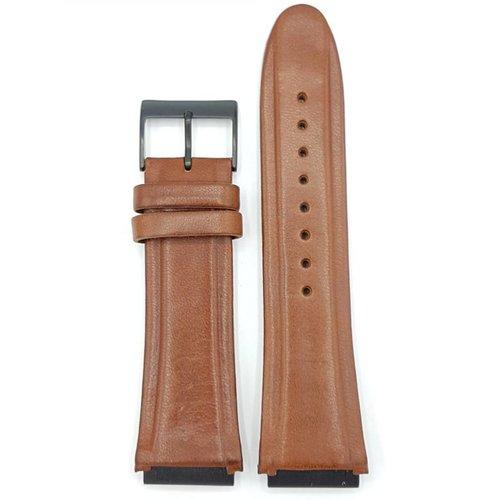Guess Guess Rigor W0040G8 Reloj correa marrón cuero genuino 22 mm