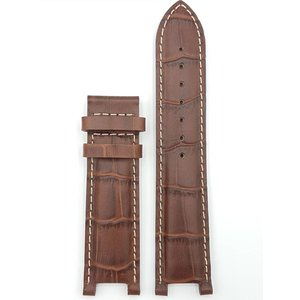 Guess Collection Guess Collection 31000G1 Watch Band Brown Leather Strap 21 mm
