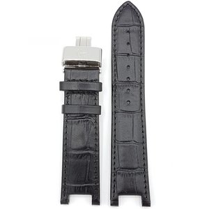 Guess Collection Guess Collection X72005G2S Watch Band Black Leather Strap 22 mm