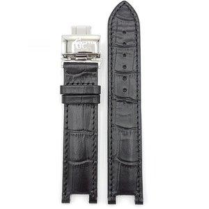 Guess Collection Adivinha coleção X65009G2S Watch Band pulseira de couro preto 20 mm