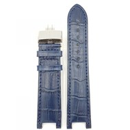 Guess Collection Guess Collection 43004G1 Watch Band Blue Leather Strap 22 mm - 46002G1