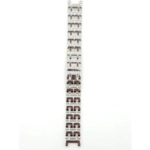 Guess Collection Coleção Guess 26001G1 / GC7000 pulseira de relógio de aço inoxidável 18 mm