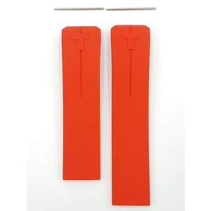 Tissot Tissot T047420A T Touch II Watch Band Red Silicone 21 mm