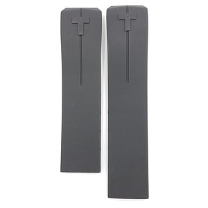Tissot Tissot T013420A & T047420A Watch Band Black Silicone 21 mm