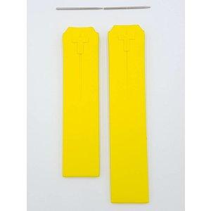 Tissot Tissot T-Touch Nascar Z252 / 352 correa de reloj Z253 / 353 correa de goma amarilla 20 mm