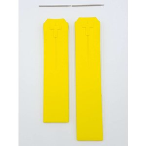 Tissot Tissot T-Touch Nascar Z252/352 Watch Band Z253/353 Yellow Rubber Strap 20 mm