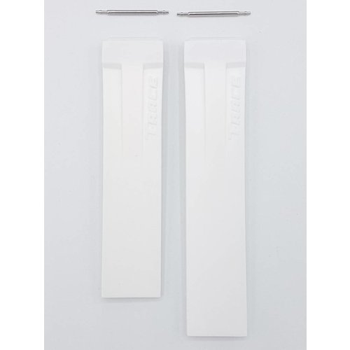 Tissot Tissot T048217 White Silicone Watch Band