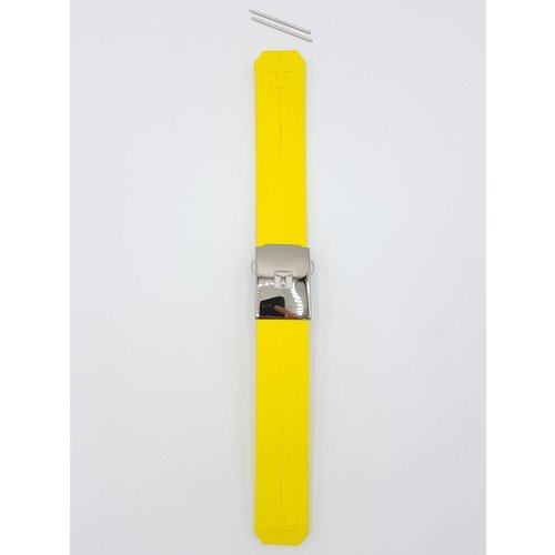 Tissot Tissot Z253 / Z353 - Nascar Pulseira De Relógio Amarelo Silicone 20 mm