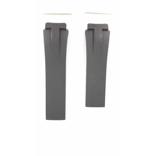 Tissot Tissot T001520A - Trekking Horlogeband Zwart Siliconen 20 mm