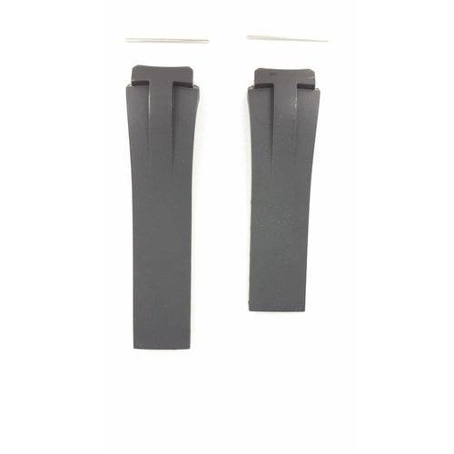 Tissot Tissot T001520A - Trekking Pulseira De Relógio Preto Silicone 20 mm
