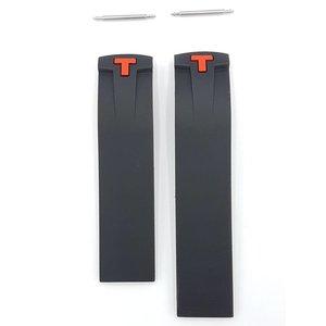 Tissot Tissot T-sport PRS330 Watch Band T036.417 correa negra y roja 20 mm