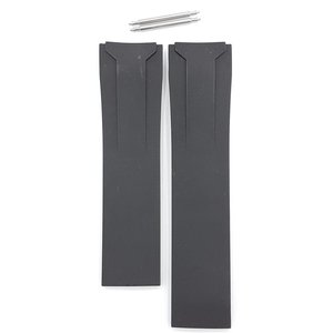 Tissot Tissot T024417 & T024427 Veloci T Watch Band Black Silicone 22 mm