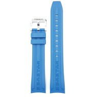Tissot Tissot Seastar T0664071704700 Horlogeband Blauw Rubber 19mm