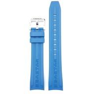Tissot Tissot Seastar T0664071704700 Watch Band Blue Rubber 19mm Strap