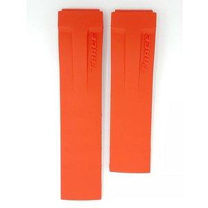 Tissot Tissot T-Race T04841727 Horlogeband rood 21 mm T048427 rubber