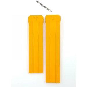 Tissot Bracelet de montre solaire Tissot Expert T091420 Bracelet de caoutchouc orange 22mm Genuine