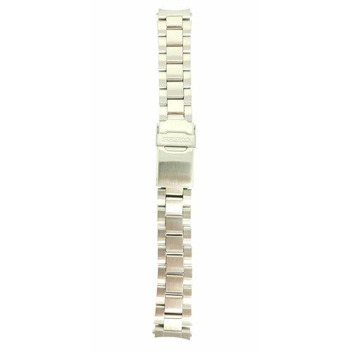 Seiko Pulsera de acero para Seiko V657-9010 18mm 4585 ZE