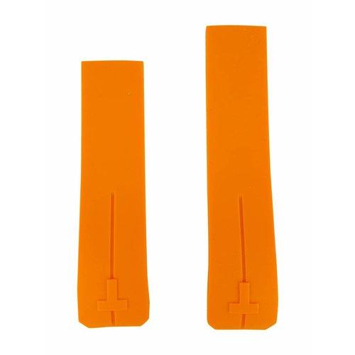 Tissot Tissot T013420A & T047420A Horlogeband Oranje Siliconen 21 mm