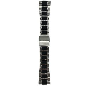 Seiko Horlogeband SNAE21P1 Seiko Yacht Timer 7T62-0KN0 Roestvrijstaal SRQ001 26 mm