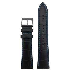 Seiko Seiko SNDD71P1 Horlogeband 22mm Zwart 7T92 0NK0 Originele band L08C011N0
