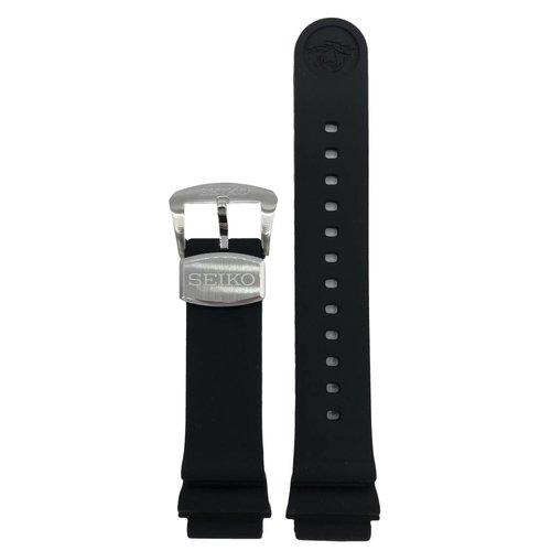 Seiko Seiko Zimbe Sumo 6R15-03X0 Black Silicon Watch Strap 20mm SPB055J1 Prospex