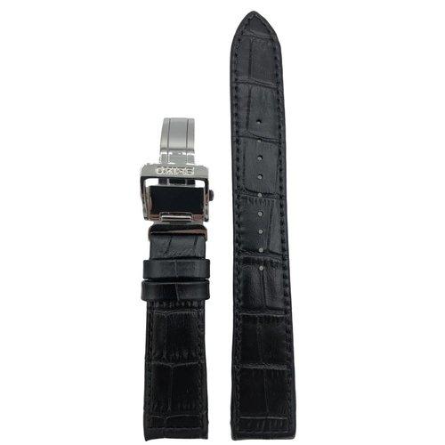 Seiko Horlogeband 5D22-0AD0, 7T62-0LE0, 5M84-0AA0 Zwarte band LOAO 21 mm Seiko Premier
