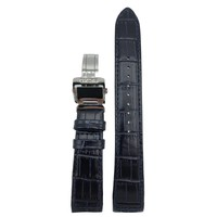 Watch Strap SNP126P1 Blue Leather Strap LOC8 21 mm Seiko Premier Novak Djokovic