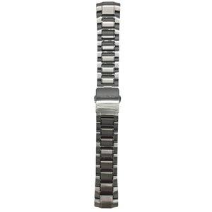 Seiko Horlogeband Seiko 7D48-0AN0, 5D44-0AH0 Roestvrij stalen band 22 mm 7T62-0LF0
