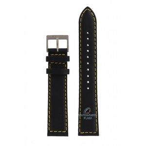 Seiko Seiko 7T92-0ET0 / 7N42-0CB0 horlogeband zwart