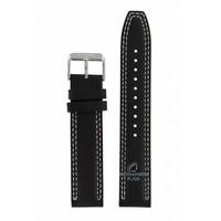 Faixa de relógio Seiko 6T63-00D0 preto SSB033P1