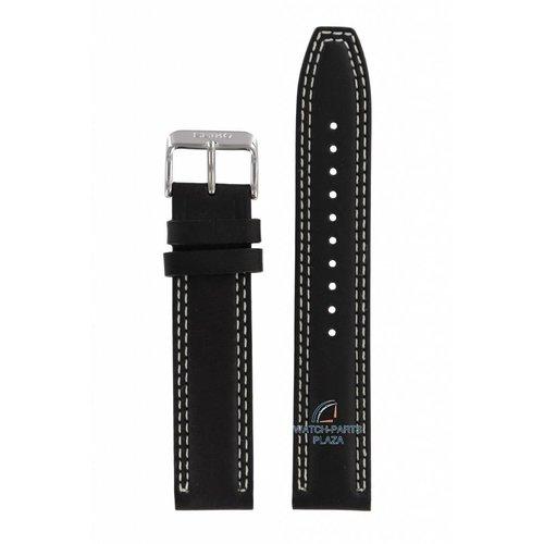 Seiko Seiko 6T63-00D0 horlogeband zwart SSB033P1
