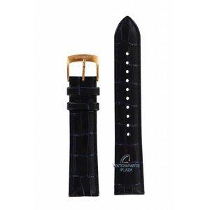 Seiko Seiko 5M84-0AC0 Bracelet de montre SRN062 Cuir bleu