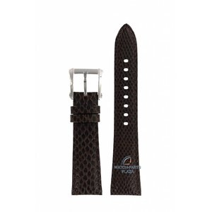 Seiko Seiko 7T92-0KS0 bracelet de montre SNDZ20 cuir marron 20mm
