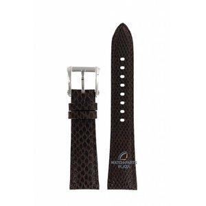 Seiko Seiko 7T92-0KS0 Uhrenband SNDZ20 braunes Leder 20mm