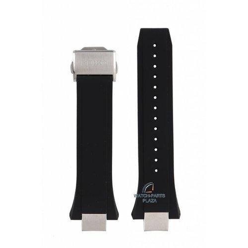 Seiko Seiko SSE167J1 / SSE169J1 Horlogeband zwart 8X53 0BB0 14mm
