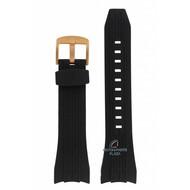 Seiko Seiko SPC250P1 Horlogeband 7T04-0AT0, 7T62, 5Y66 zwart 26 mm