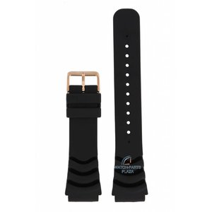Seiko Seiko SRP60K1, SRP210K1 Bracelet de montre noir 5 Sports 4R36 04J0 22 mm