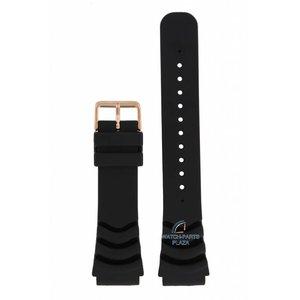 Seiko Seiko SRP60K1, SRP210K1 Horlogeband zwart 5 Sport 4R36 04J0 22 mm