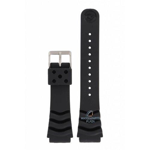 Seiko Seiko Scuba Diver Uhrenarmband schwarz 22 mm M796-5A10