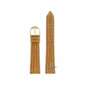 Seiko Seiko 8M25-6000 Uhrenarmband 5Y32-5B00 Braune Roséschnalle aus Leder 18mm