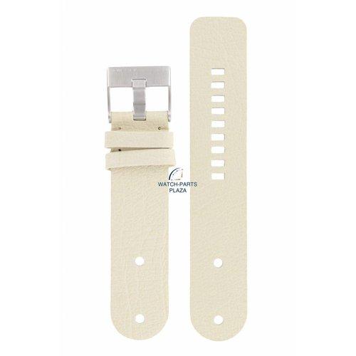 Diesel Diezel DZ-2077 Horlogeband Wit Leer 26 mm