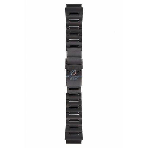 Seiko Seiko Monster zwarte horlogeband staal 4R36-01J0 & 7S36