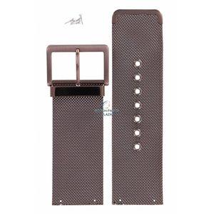 DKNY DKNY NY-3853 Horlogeband Staal Brons 30 mm