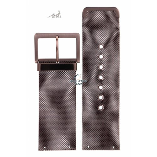 DKNY DKNY NY-3853 Watch Band Steel Bronze 30 mm