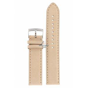 Armani Cinturino per orologio Armani AR-0619/0621 in pelle beige 20 mm