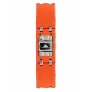 Armani Armani AR-5498 Watch Band Orange Leather 22 mm