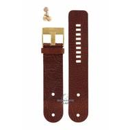 Diesel Diezel DZ-2020 Watch Band Brown Leather 26 mm