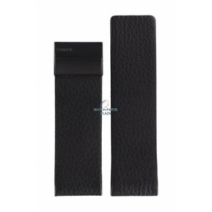 Philippe Starck Philippe Starck PH-5010 Watch Band Black Leather 30 mm