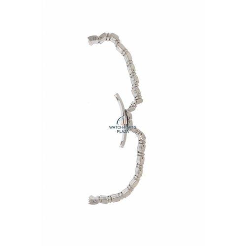 Burberry Horlogeband Burberry Heritage BU1352 roestvrijstalen band 20 mm